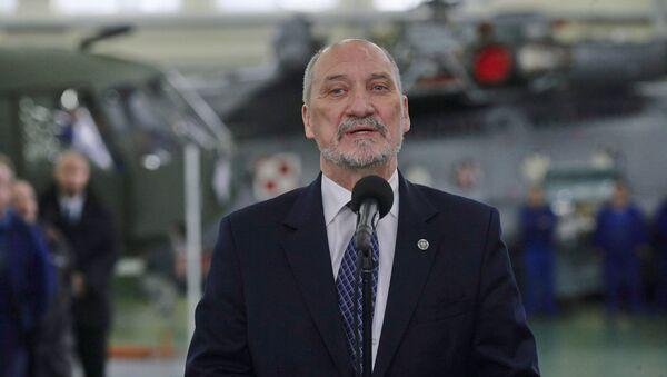 Minister obrony Polski Antoni Macierewicz - Sputnik France