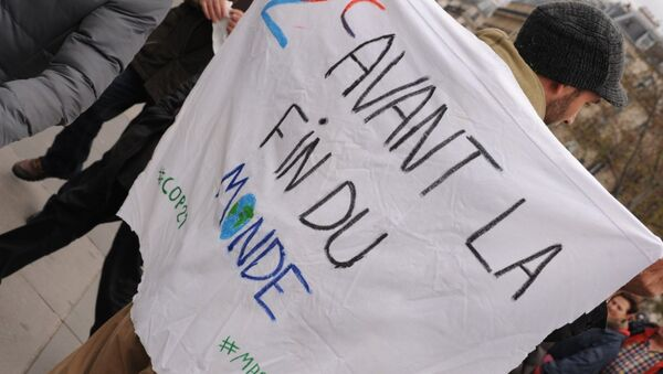 manif anti cop21 - Sputnik France