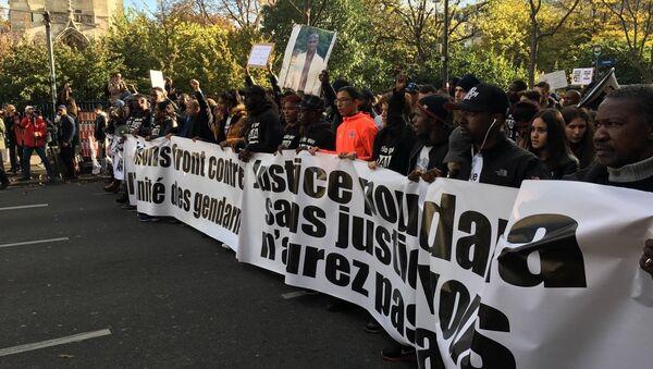 Marche pour Adama Traoré à Paris, 2016 - Sputnik France