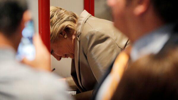 La candidate democrate à la présidence américaine Hillary Clinton - Sputnik France
