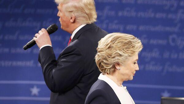 Donald Trump / Hillary Clinton - Sputnik France