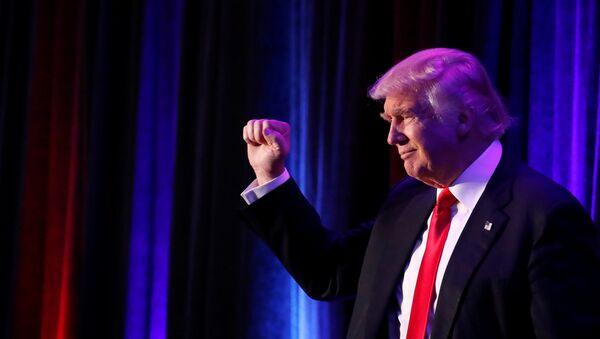 Donald Trump élu président des Etats-Unis - Sputnik France
