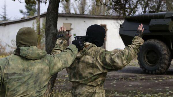 Показательные выступления пограничной службы в Крыму - Sputnik France