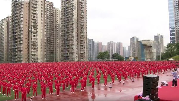 50,000 Chinese dance to a new world record - Sputnik France