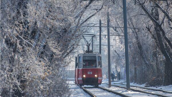 Un tram en hiver - Sputnik France