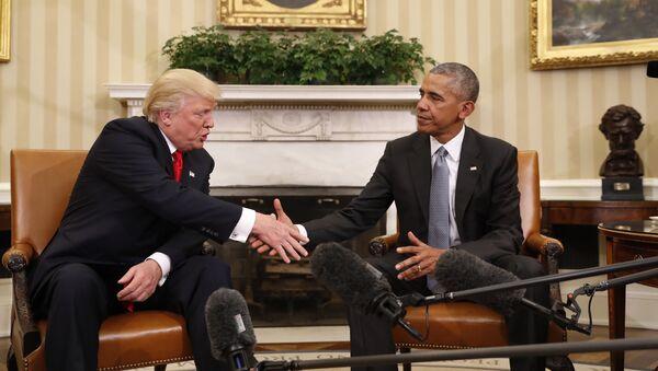 Rencontre Trump-Obama à la Maison blanche - Sputnik France