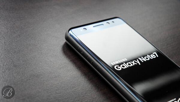 Un Samsung Galaxy Note 7 - Sputnik France