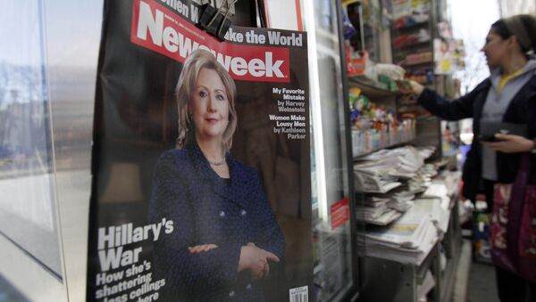 La revista Newsweek - Sputnik France