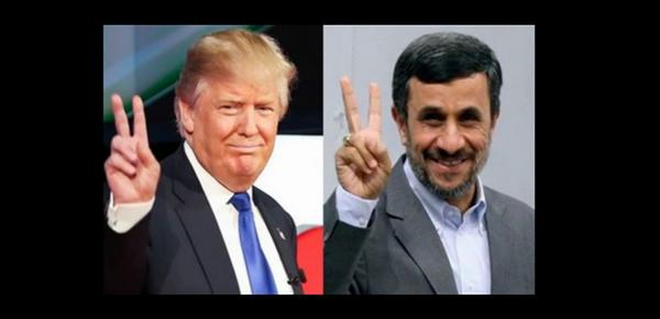 Trump vs Ahmadi Nejad - Sputnik France