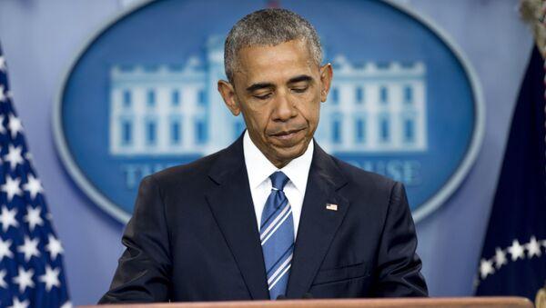 Le président sortant des Etats-Unis Barack Obama - Sputnik France