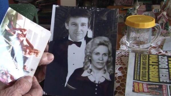 Donald Trump et Milka Milisavljević sur une photo d'archive - Sputnik France