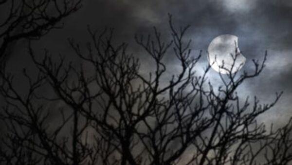 A partial solar eclipse is seen from near Bridgwater - Sputnik France