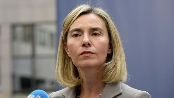 Federica Mogherini - Sputnik France