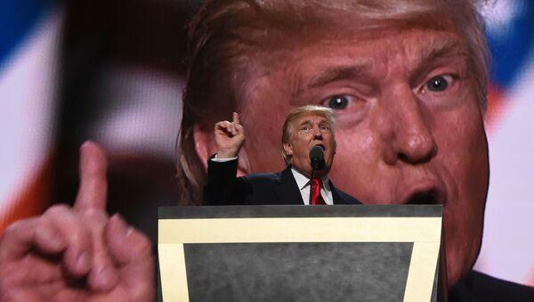 Кандидат в президенты США Дональд Трамп - Sputnik France
