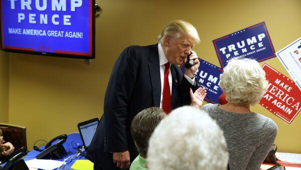 Donald Trump lors de la course présidentielle - Sputnik France
