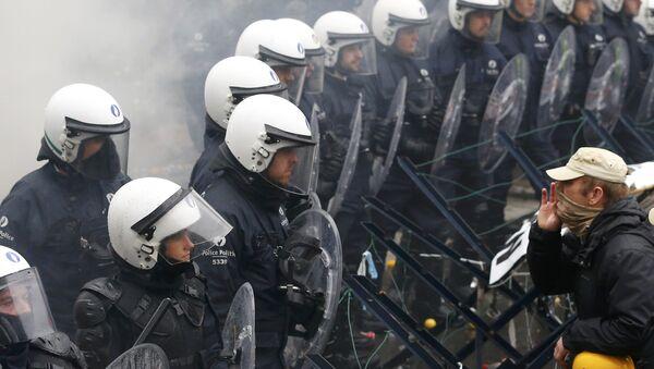 manifestation des militaires à Bruxelles - Sputnik France