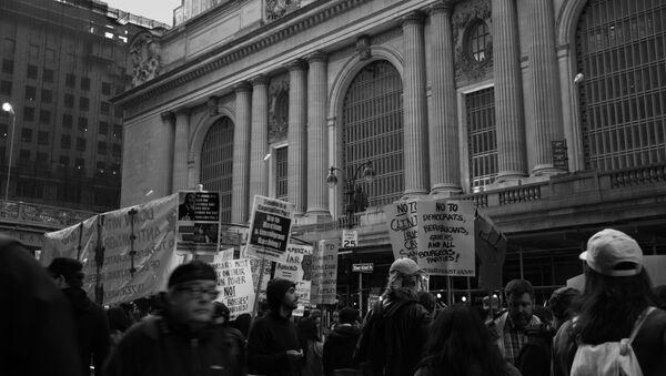 Anti-Trump protest - Sputnik France