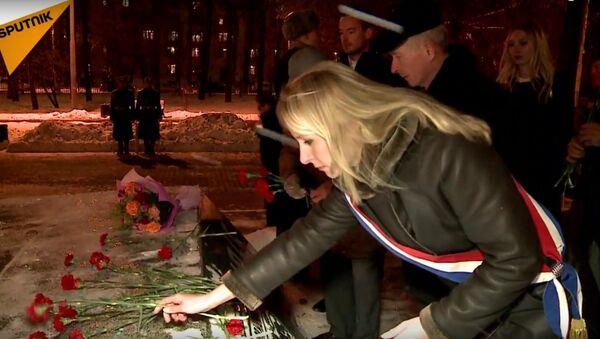 Marion Maréchal-Le Pen à Moscou - Sputnik France