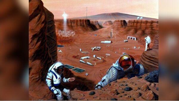 Colonisation de Mars - Sputnik France