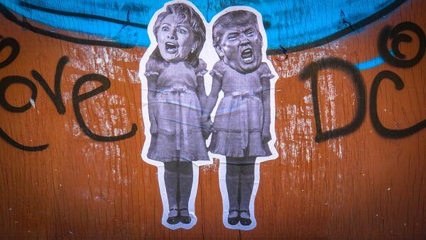 Donald Trump élu président des USA - Sputnik France