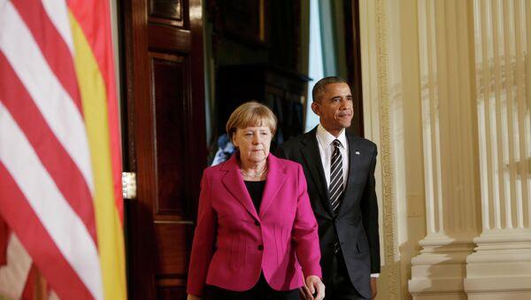 Angela Merkel et Barack Obama - Sputnik France