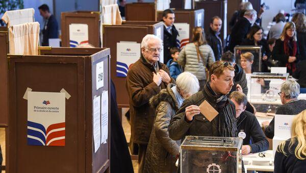le premier tour de la primaire de la droite en France - Sputnik France