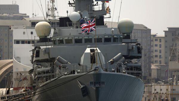 HMS Westminster - Sputnik France