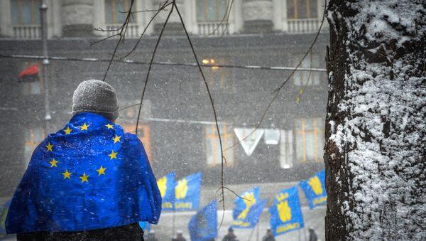 Contestation pro-européenne à Kiev - Sputnik France