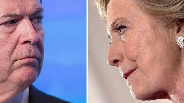James Comey / Hillary Clinton - Sputnik France