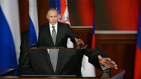 Le président russe Vladimir Poutine, 11 décembre 2015 - Sputnik France