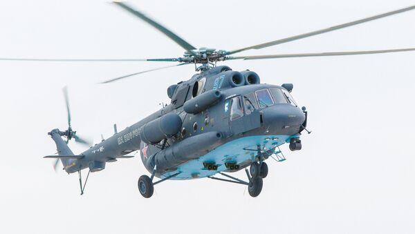 Первый арктический вертолет Ми-8АМТШ-ВА передан морской авиации ВМФ России - Sputnik France