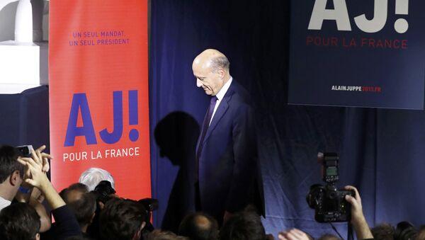 Alain Juppe - Sputnik France