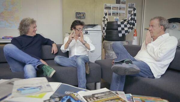Jeremy Clarkson, Richard Hammond et James May - Sputnik France