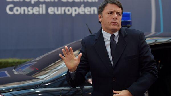 Le premier ministre italien Matteo Renzi - Sputnik France