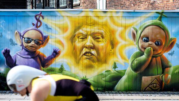graffiti Trump - Sputnik France