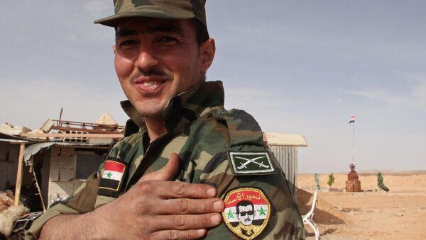 L'armée gouvernementale syrienne - Sputnik France