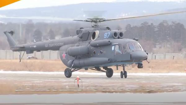 L'aviation navale russe reçoit son premier hélicoptère arctique - Sputnik France