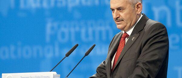 Le premier ministre turc Binali Yildirim - Sputnik France