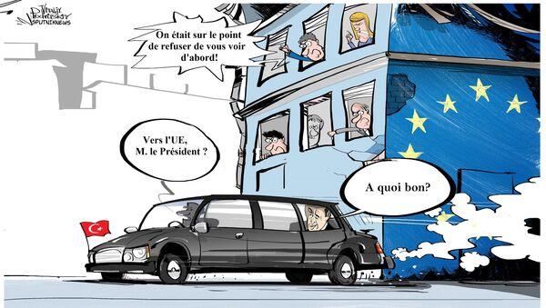 Le Parlement européen vote le gel des pourparlers sur l'adhésion de la Turquie à l'UE - Sputnik France