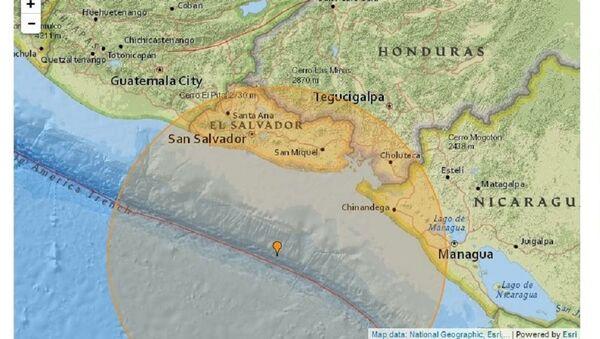 Un séisme de magnitude 7,2 frappe la côte pacifique de l'Amérique centrale - Sputnik France