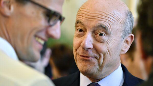 Alcalde y candidato de derecha del partido republicano de Burdeos para la elección presidencial de 2017 Alain Juppé - Sputnik France