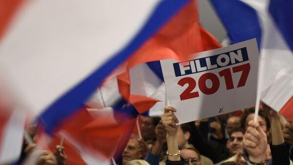 Manifestation de soutien à François Fillon, candidat à la présidence 2017 - Sputnik France