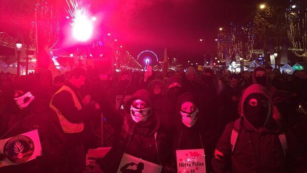 Paris : quinzième mobilisation des policiers en colère - Sputnik France