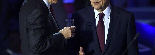 François Fillon et Alain Juppé - Sputnik France