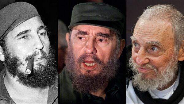 Paris: avec le décès de Fidel Castro, une page du XXe siècle se tourne - Sputnik France