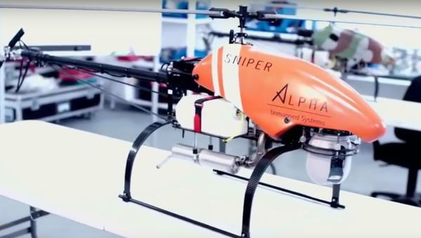 Un drone Sniper d'Alpha Unmanned Systems - Sputnik France
