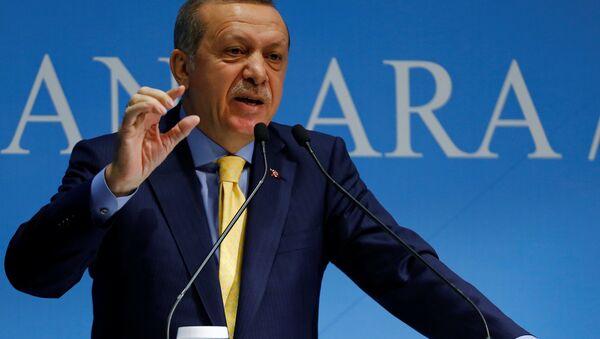 Recep Tayyip Erdogan, président turc - Sputnik France