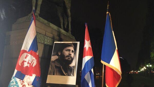 Hommage à Fidel Castro, Paris - Sputnik France