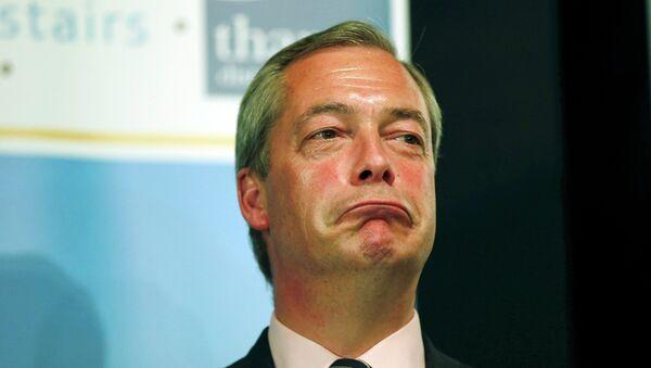 Nigel Farage, fondateur du Parti pour l'indépendance du Royaume-Uni (UKIP) - Sputnik France