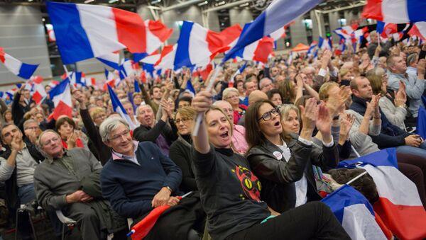 Les partisans de François Fillon - Sputnik France